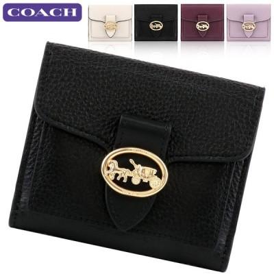 コーチ COACH 財布 二つ折り財布 6654 ミニ財布 アウトレット レディース 新作