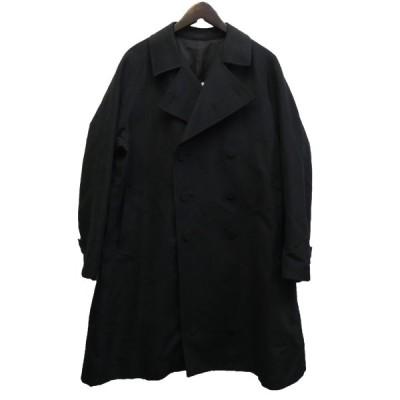 Kudos 19AW 「TOOMANY BUTTON TRENCH COAT」 コットンギャバジントレンチコート ブラック サイズ:1 (新宿店) 2