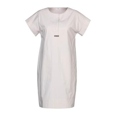 ペゼリコ PESERICO ミニワンピース&ドレス ライトグレー 38 コットン 96% / ポリウレタン 4% ミニワンピース&ドレス