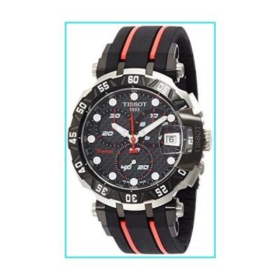 Tissot Men's T-Race T0924172720100 Black Rubber Swiss Chronograph Watch【並行輸入品】