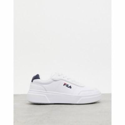 フィラ Fila レディース スニーカー シューズ・靴 court advantage trainers in white ホワイト