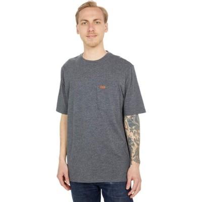 ペンドルトン Pendleton メンズ Tシャツ ポケット トップス Short Sleeve Deschutes Pocket Tee Dark Grey Heather