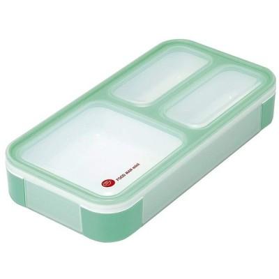 薄型弁当箱 フードマンミニ ミントグリーン 400ml シービージャパン