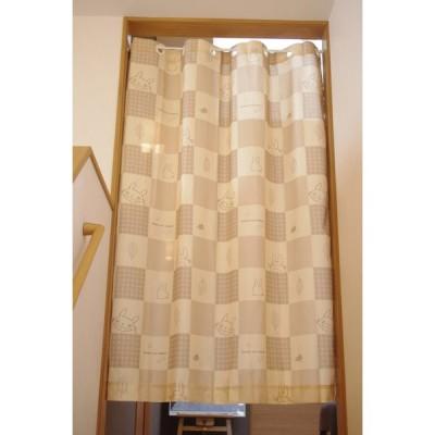 のれん 間仕切り 暖簾 目隠し ハトメカーテン となりのトトロ かくれんぼトトロ 巾145cm x 丈175cm ジブリ 送料無料