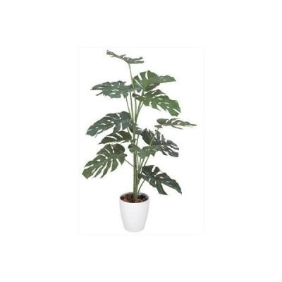 光触媒 人工観葉植物 光の楽園 モンステラ1.2m 369C175
