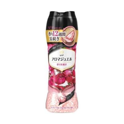 P&Gジャパン レノアハピネス アロマジュエル アンティークローズ&フローラルの香り 本体 470ML 香り付け専用ビーズ