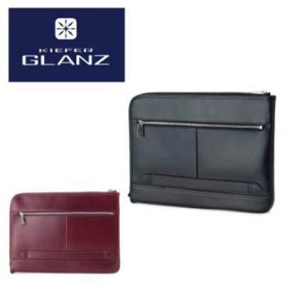 【レビューを書いて+5%】キーファーグランツ セカンドバッグ レザー メンズ KFG2203G | Kiefer GLANZ ビジネスバッグ クラッチバッグ