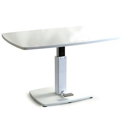 昇降式テーブル 《ホワイト》 120 昇降テーブル ダイニング テーブル 脚 高さ調節 伸縮 ローテーブル センターテーブル 木製 リビングテーブル ソファテーブル 41900001 WH 【予約】5月下旬※5/30までに出荷予定