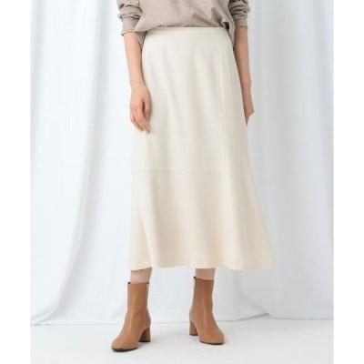 INDIVI / インディヴィ 【WEB限定】ジョーゼットアシメフレアスカート