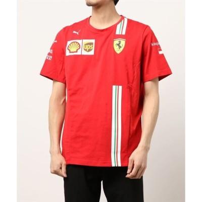 tシャツ Tシャツ PUMA プーマ フェラーリ LECLERC レプリカ 半袖 Tシャツ
