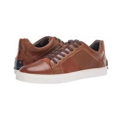 Steve Madden スティーブマデン メンズ 男性用 シューズ 靴 スニーカー 運動靴 Mister Sneaker - Cognac Leather