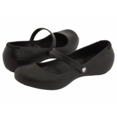 crocs クロックス レディース 女性用 シューズ 靴 フラット Alice Work Black【送料無料】