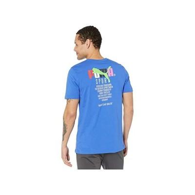 customerAuth Graphic Tee TFS メンズ Shirts & Tops Dazzling Blue