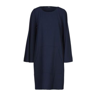 SISTE' S ミニワンピース&ドレス ダークブルー XS ポリエステル 92% / ポリウレタン 8% ミニワンピース&ドレス