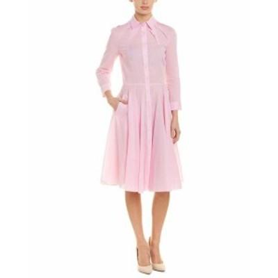Oscar de la Renta オスカーデラレンタ ファッション ドレス Oscar De La Renta Shirtdress 2 Pink