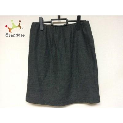 トゥモローランド TOMORROWLAND スカート サイズ38 M レディース 美品 グレー     スペシャル特価 20200621