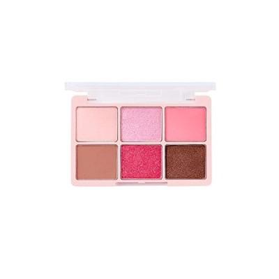 チカイチコワンショットアイパレットNO.5(ラブリーピンク)ピンク色 (LOVELY PINK)