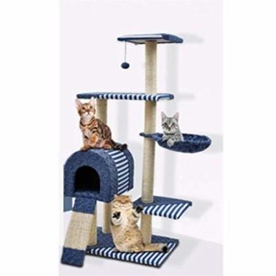 猫の巣猫傷ポスト猫ジャンプ簡単インストール四つの季節40x60x123センチの (新古未使用品)