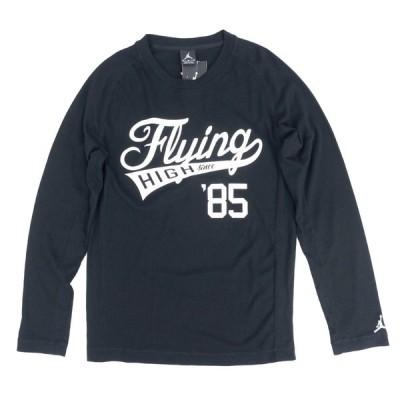 ジョーダン Tシャツ 長袖 JORDAN Tシャツ ブラック 黒 Jordan Flying High Since 85 Thermal L/S T-Shirt【OCSL】