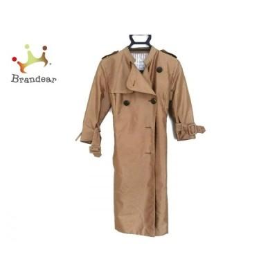 スマッキーグラム コート サイズ4 XL レディース 訳あり ライトブラウン 肩パッド/春・秋物  スペシャル特価 20201130