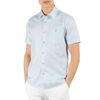 テッドベーカー メンズ シャツ トップス Short Sleeve Button Down Shirt