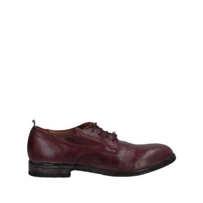 モマ MOMA メンズ シューズ・靴 laced shoes Brick red