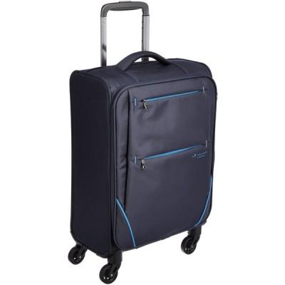 [ヒデオワカマツ] スーツケース ソフト フライII 超軽量 機内持ち込み可 85-76000 26L 55 cm 1.9kg ネイビー