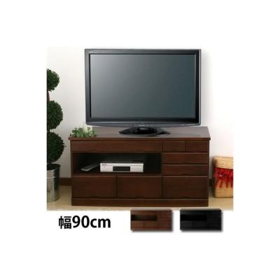 テレビボード 完成品 引き出し収納 木製 アジアン 32型 対応 テレビ台 コンパクト コード収納 リビング おしゃれ