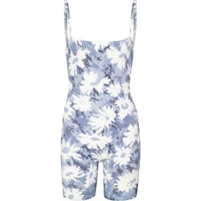 サー SIR レディース オールインワン ショート ワンピース・ドレス freya floral jersey playsuit Freya Print
