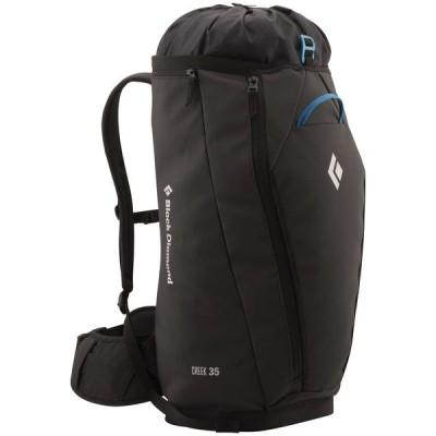 ブラックダイヤモンド バックパック・リュックサック メンズ バッグ Creek 35L Backpack Black