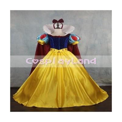 高品質 高級コスプレ衣装 ディズニー 白雪姫 風 プリンセスドレス Princess Snow White Cosplay Co