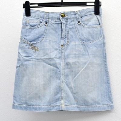 D&G / ディーアンドジー  スカート/ライトインディゴブルー/サイズ38/カワイイ/カジュアル レディースファッション 中古