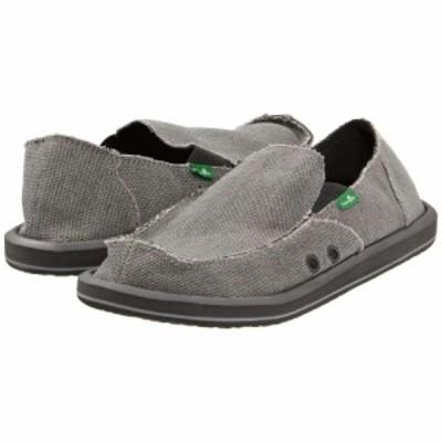 サヌーク Sanuk メンズ ローファー シューズ・靴 Vagabond Grey