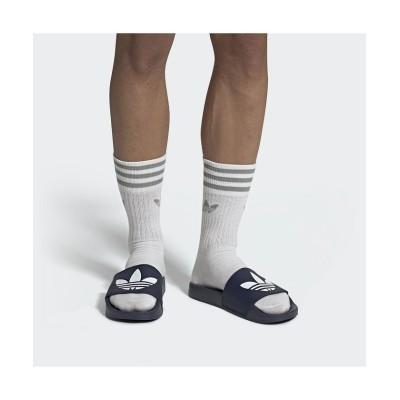 【アディダス】 アディレッタ ライト サンダル / Adilette Lite Slides ユニセックス ブルー 25.5cm adidas