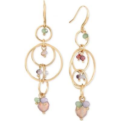 スタイル&コー Style & Co ユニセックス イヤリング・ピアス ジュエリー・アクセサリー Multi-Link Shaky Bead Linear Drop Earrings Gold