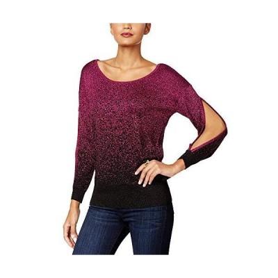 Thalia Sodi Ombr? Sweater (Majestic Plum, XL)並行輸入品 送料無料
