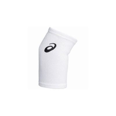 ネコポス対応 アシックス/asics バレーボール ひじサポーター VBエルボー スリーブ XWP071 ホワイト×ブラック(0190)