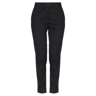 OVERLAPPING パンツ ブラック 38 コットン 98% / ポリウレタン 2% パンツ