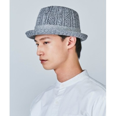 OVERRIDE / OVERRIDE CABLE KNIT FEDORA Ag+ MEN 帽子 > ハット