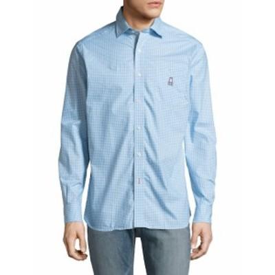 サイコバニー メンズ トップス Tシャツ ポロシャツ Printed Cotton Sportshirt