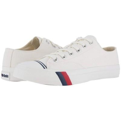 ケッズ Keds メンズ スニーカー シューズ・靴 Pro- Royal Lo Classic Canvas White