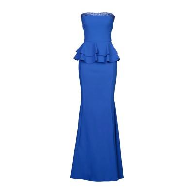 CHIARA BONI LA PETITE ROBE ロングワンピース&ドレス ブライトブルー 38 ナイロン 72% / ポリウレタン 28% /