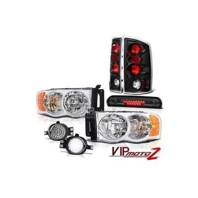 カー用品 パーツ ランプ ヴェノム 02-05 ラム SLT クリスタル ヘッドライト Rear ブラック ブレーキ ランプ LED フォグランプ サード カーゴ