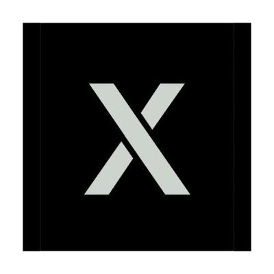 吹付けプレート文字高300 アルファベット X 品番:6300000152 グリーンクロス