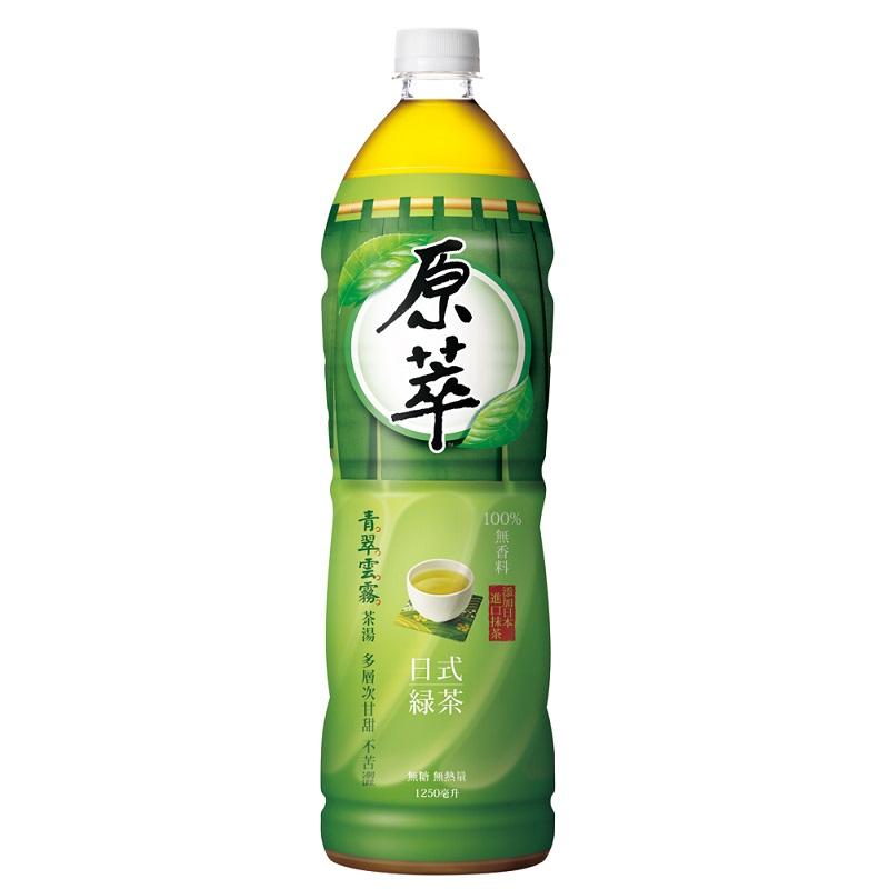 原萃日式綠茶Pet1250ml