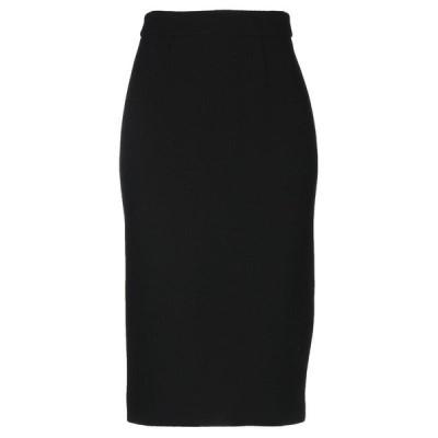 P.A.R.O.S.H. 七分丈スカート ファッション  レディースファッション  ボトムス  スカート  ロング、マキシ丈スカート ブラック