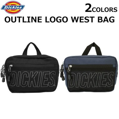 Dickies ディッキーズ アウトライン ロゴ ウェストバッグ Outline Logo West Bag ボディバッグ ウェストバッグ メンズ レディース B6 14959300