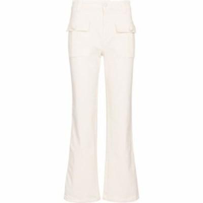 クロエ See By Chloe レディース ジーンズ・デニム ボトムス・パンツ mid-rise flared jeans Brilliant White