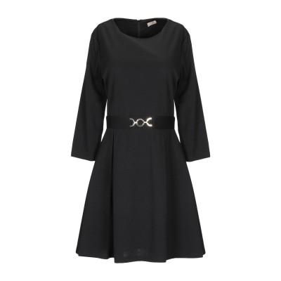 KLIXS ミニワンピース&ドレス ブラック M ポリエステル 95% / ポリウレタン 5% ミニワンピース&ドレス