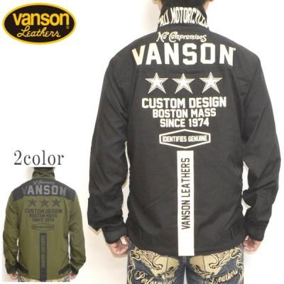 バンソン VANSON NVSL-2101 ストレッチシャツ 長袖シャツ スリースター バイク バイカー トップス メンズ